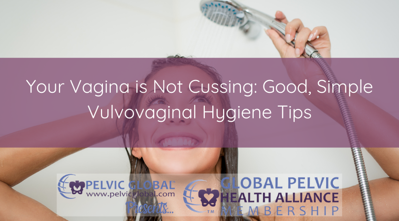 Sara Sauder, a pelvic physical therapist, talks about the best ways to care for your vulva and vagina.