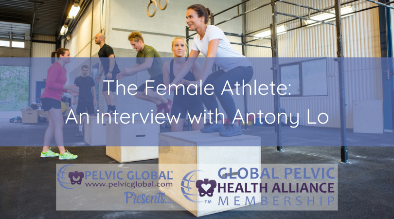 Interview with Antony Lo about training female athletes.