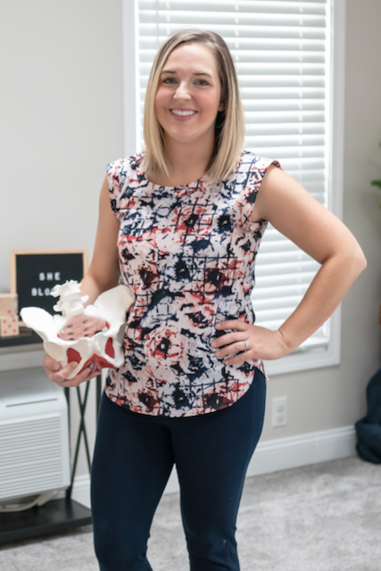 Brittany Haidet, PT, DPT, She Blooms Physical Therapy