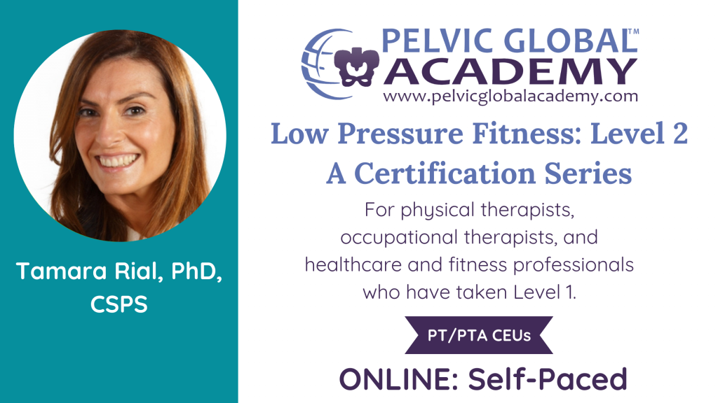 Low Pressure Fitness Level 2 with Tamara Rial