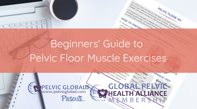 Pelvic Floor 101 to teach people how to do a kegel and understand pelvic physical therapy